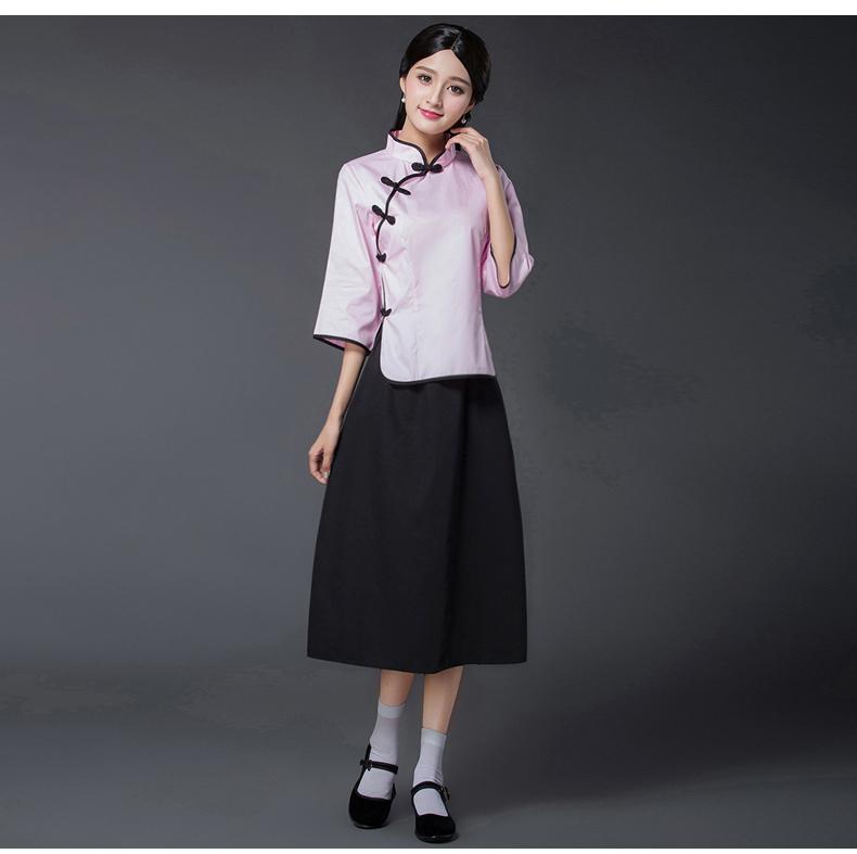 民国风学生装五四青年装,复古服装女装中山装