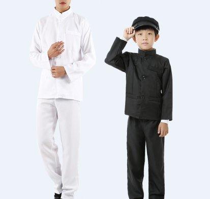 男女童民国学生装,亲子古装