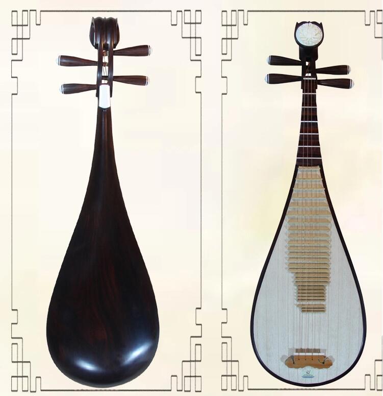 专业老红木琵琶乐器
