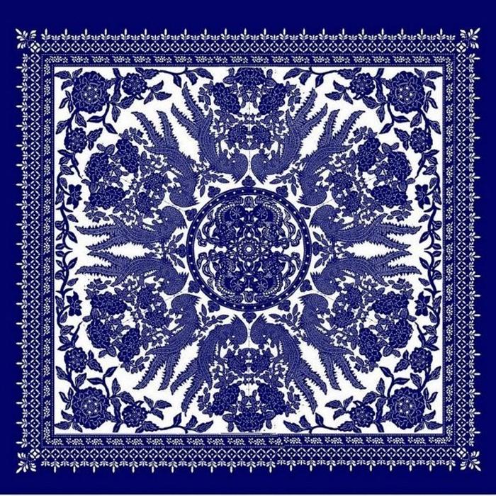中国经典:蓝印花布