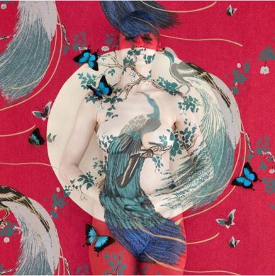 彩绘艺术,中国风人体彩绘
