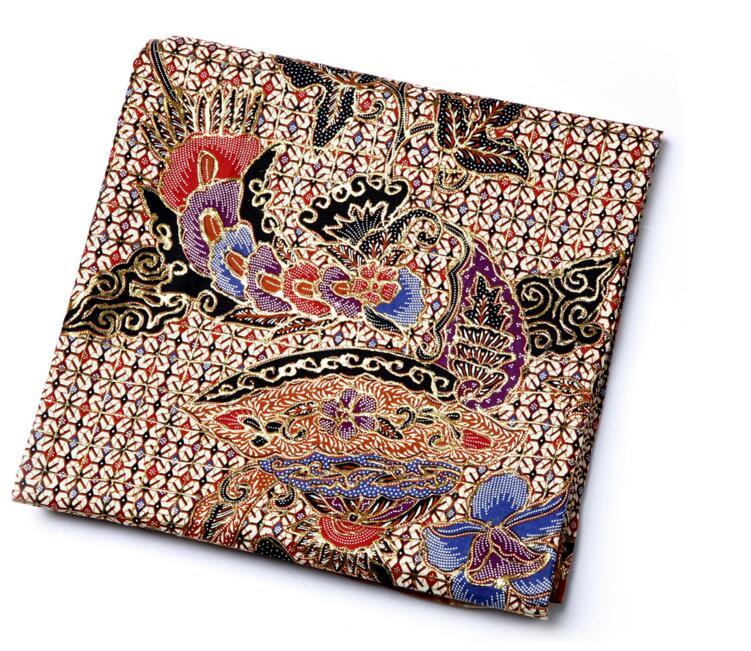 印尼纯手工印花布料