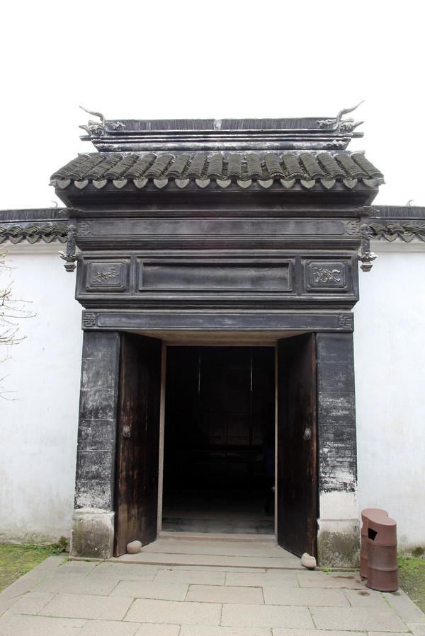 中国风中式大门