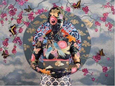 创意人体彩绘,彩绘艺术