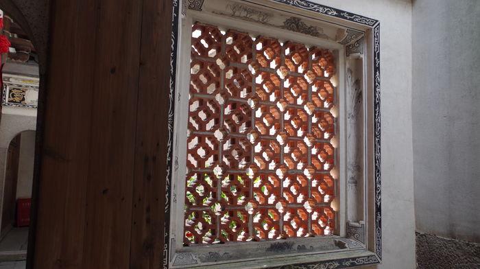 中式窗棱窗户