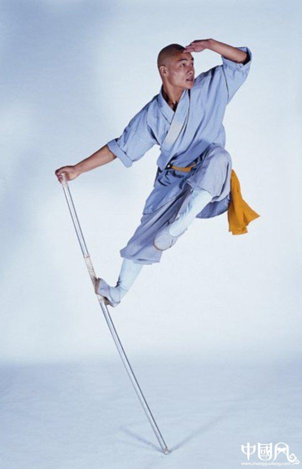中华武术:少林大圣棍