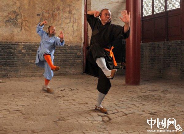 中华武术:少林禅拳