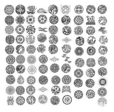 中国传统元素矢量素材ai图片