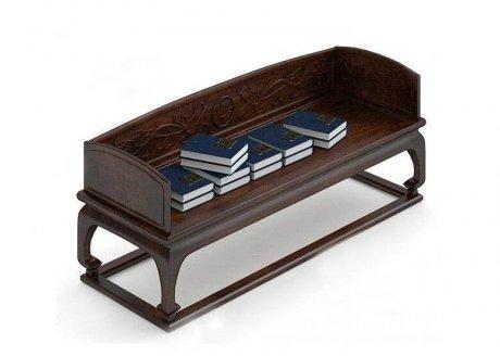 中式罗汉床3D模型