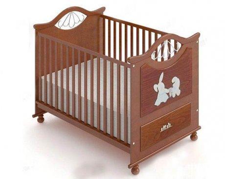 婴儿床3D模型下载