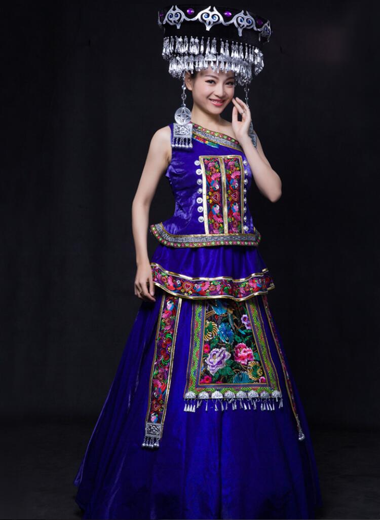 新疆维吾尔族_民族服装苗族服饰图片- 中国风