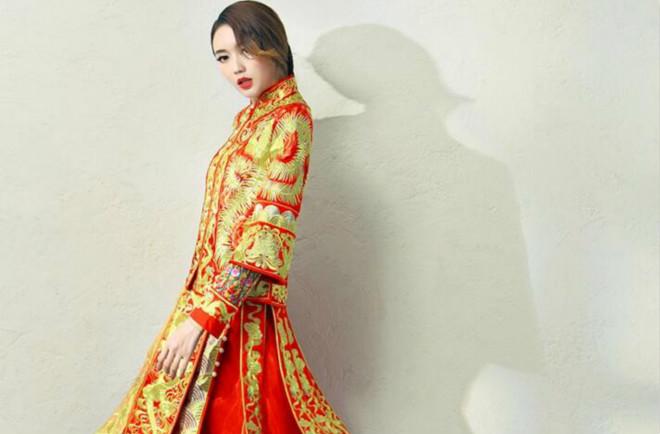 中国风新娘嫁衣中式礼服
