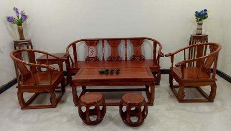 仿古家具中式实木皇宫椅太师椅