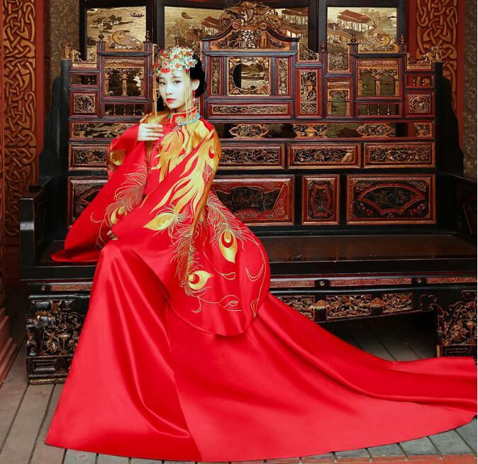 秀禾服新娘嫁衣中式礼服