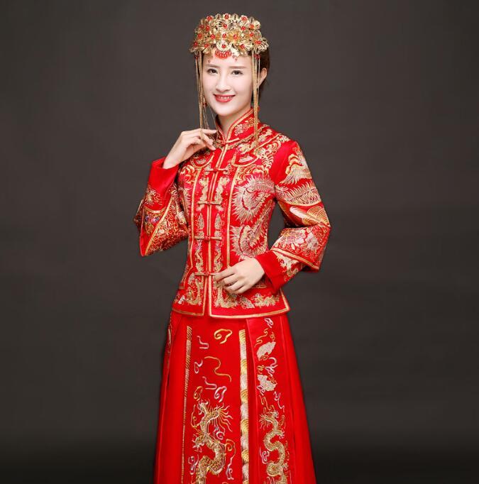 秀禾服新娘喜服中式礼服