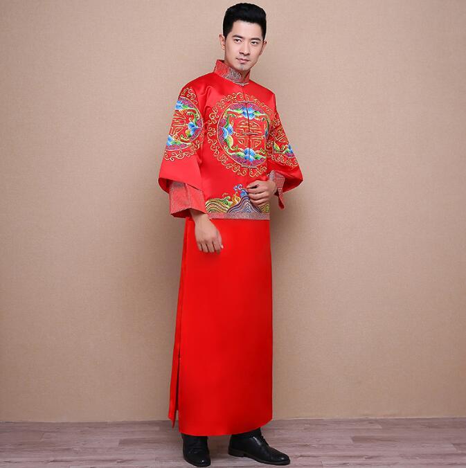秀禾服男装新郎礼服中式礼服