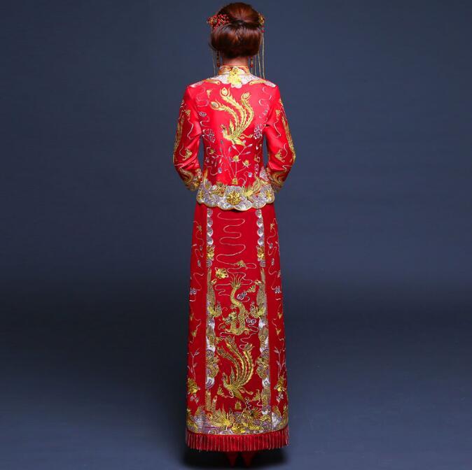 中国风秀禾服新娘喜服中式礼服