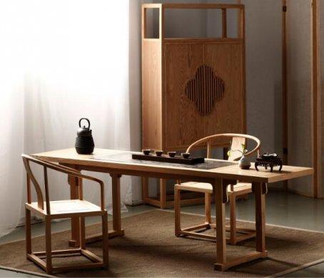 梅花元素古典中式柜子图片