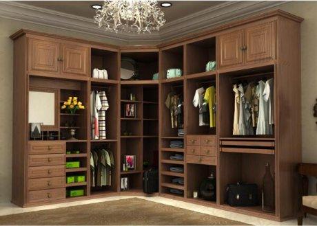 实木家具卧室中式柜子
