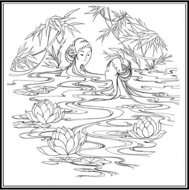 白蛇传的故事,白蛇传绘本插画