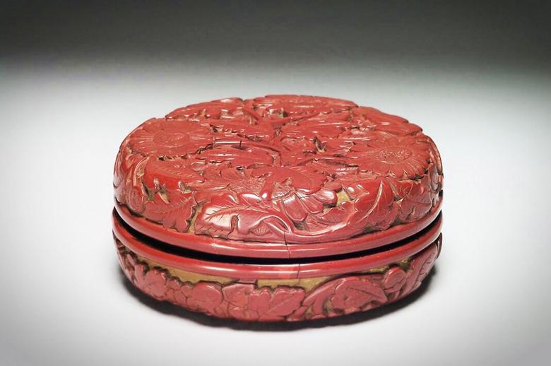 明清漆雕工艺,剔红木竹漆器