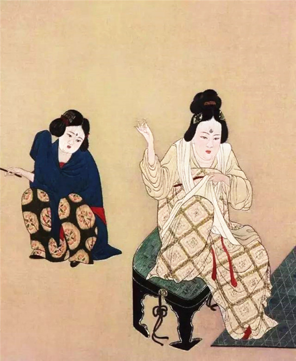 蜀绣大师——孟德芝,作品欣赏