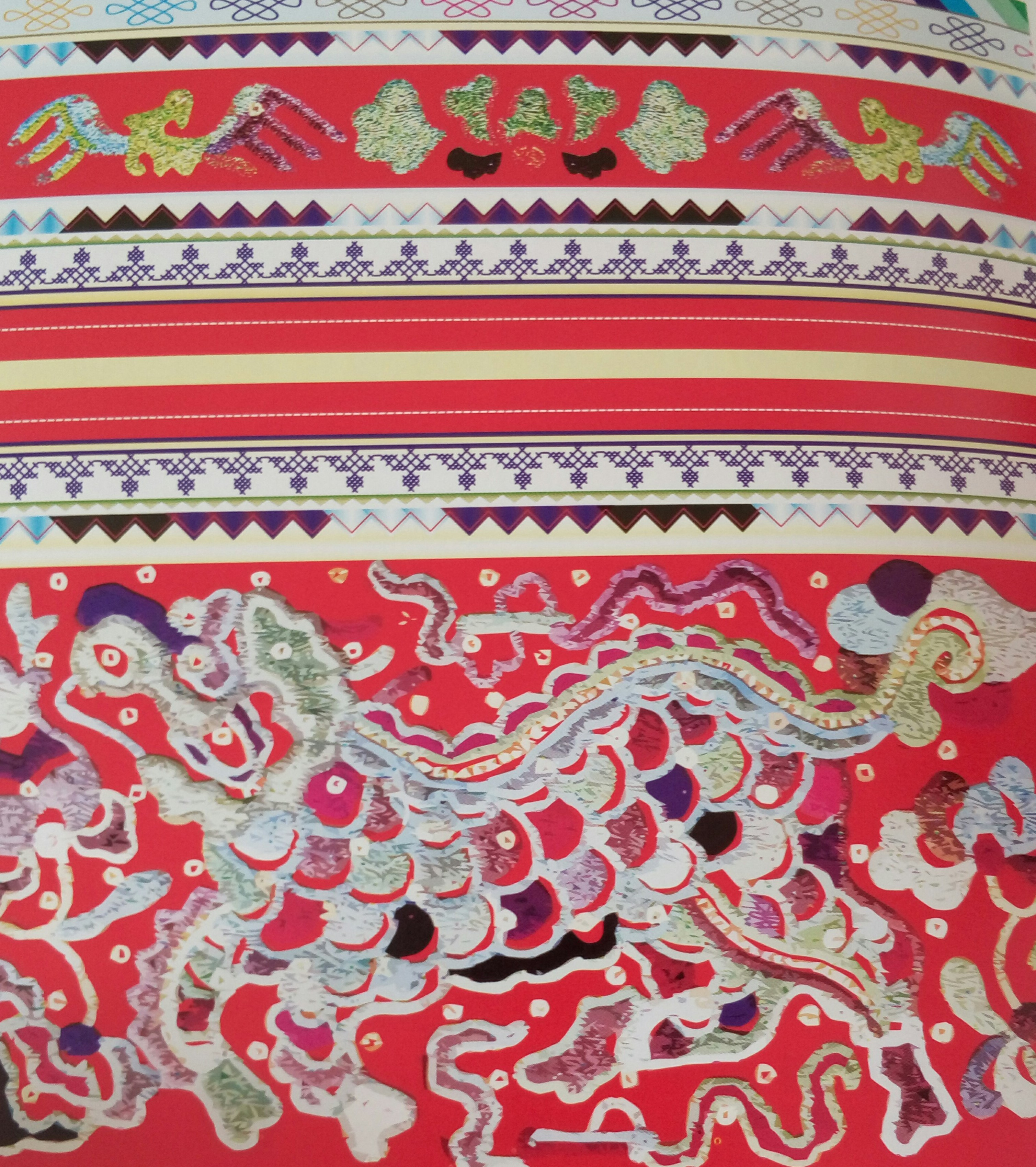 中国传统刺绣与织物图案