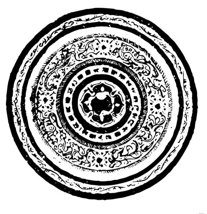 中国传统古典艺术图腾素材