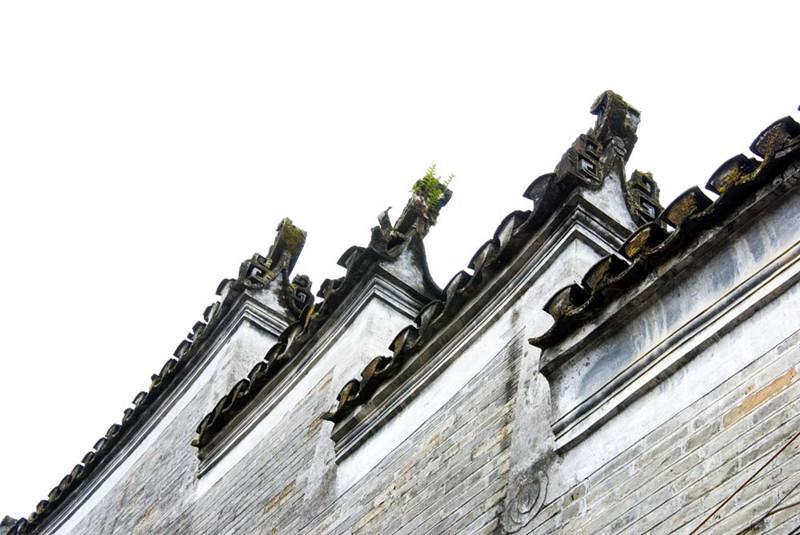 马头墙—中国江南传统民居建筑特色元素