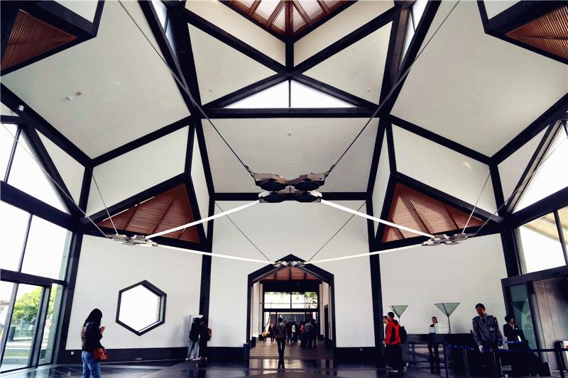 苏州博物馆,空间与园林的完美结合