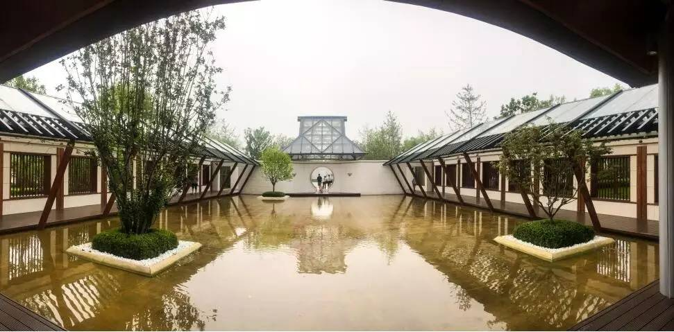 国风天著春秋园林景观远洋-豪宅网木兰水天设计图图片