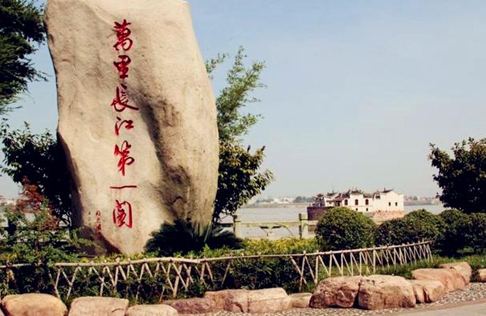 """""""万里长江第一阁""""鄂州观音阁,700年屹立不倒"""