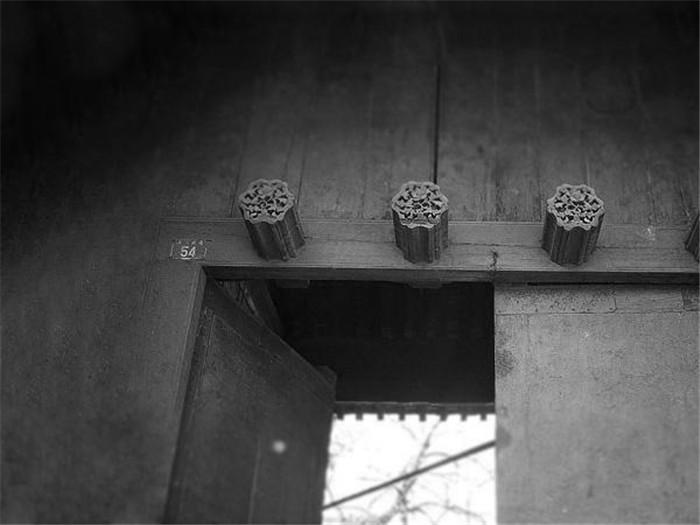 古建筑的门当与户对
