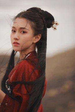 绝美妖娆的古装女子摄影