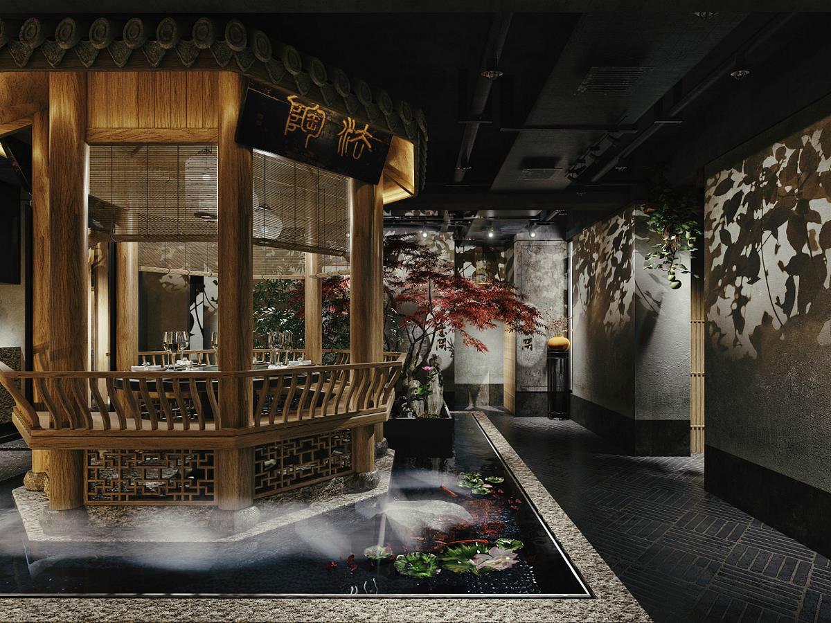 风雅韵味十足的中式会所空间设计