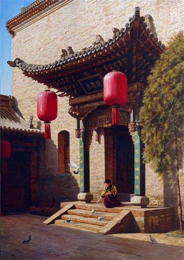 左邻右舍_中式建筑,中国传统老宅院- 中国风