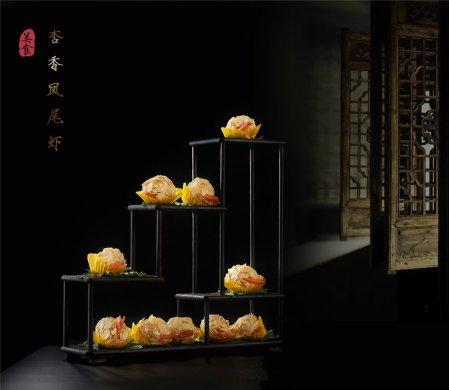 精致古典的中式餐饮菜肴