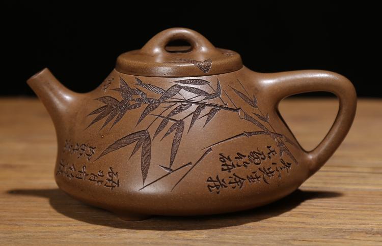 明清代名家紫砂老茶壶老段泥纯手工