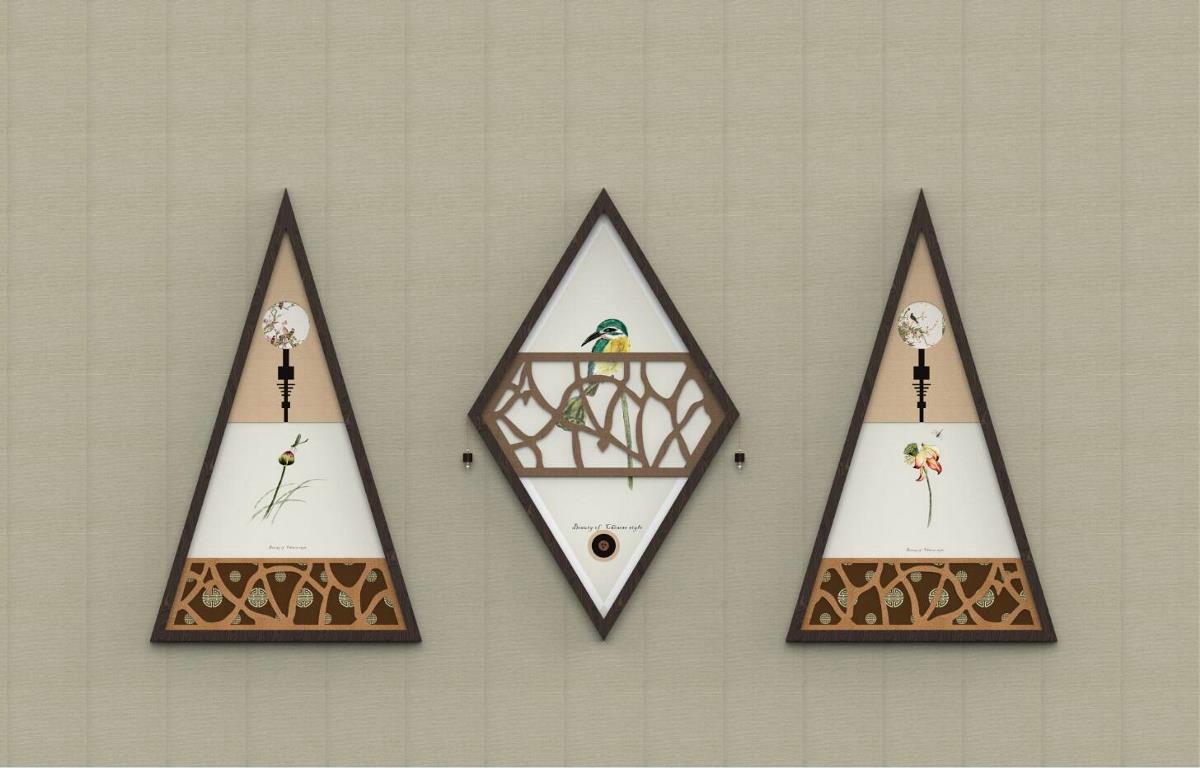 中式装饰画图片