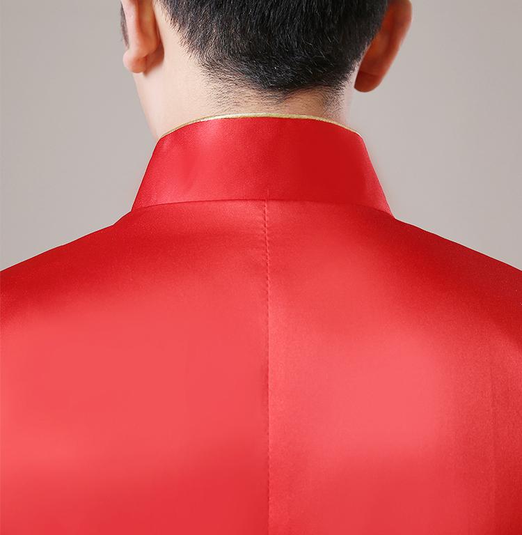 超有气质的中式礼服中山装