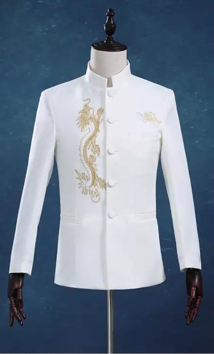 传统与时尚完美结合的中山装