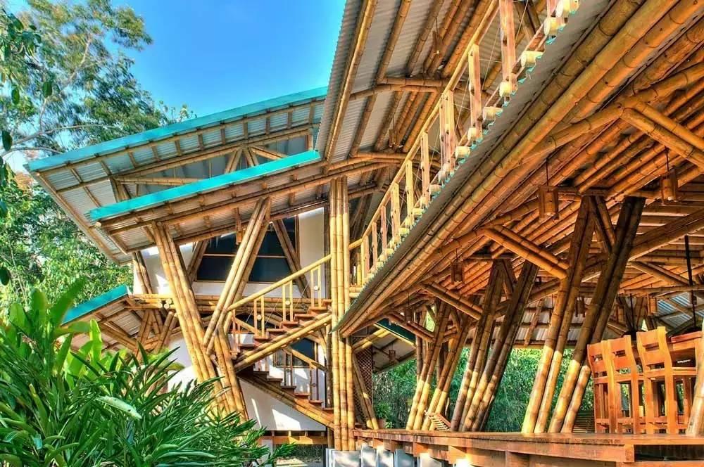 古建筑之美,最美的竹建筑