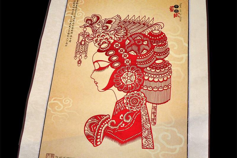 艺术瑰宝中国文化传统剪纸欣赏
