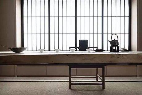 禅意新中式茶室设计
