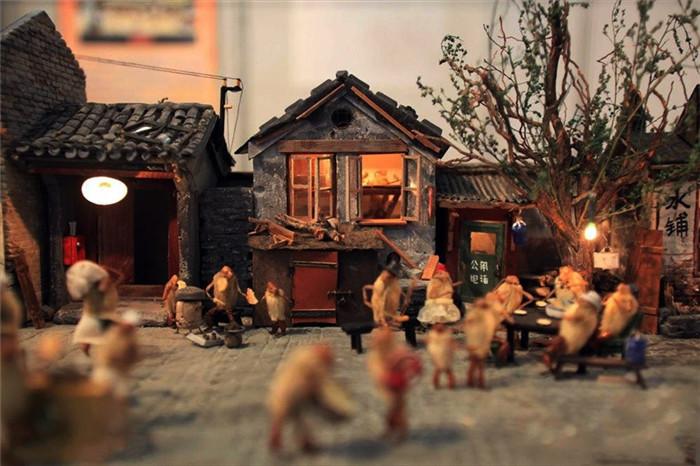 北京毛猴传统手工工艺欣赏