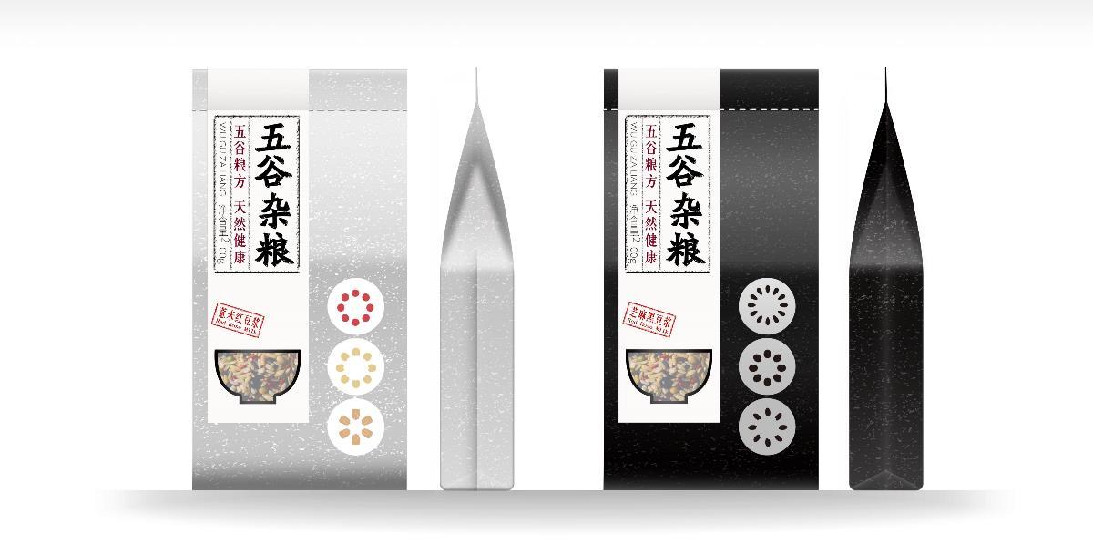 五谷杂粮品牌产品设计包装