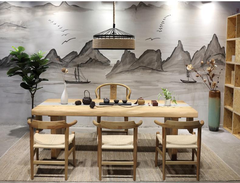 茶桌椅组合仿古简约功夫茶台