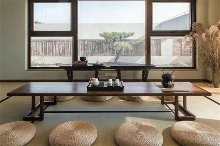 新中式茶台简约禅意茶艺桌