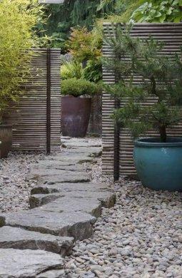 庭院设计,竹子在庭院中造景的