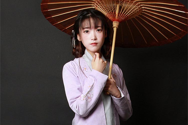 中国风女装手绘日常汉服中式对